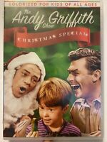 THE ANDY GRIFFITH SHOW CHRISTMAS SPECIAL New Sealed DVD 2 Episodes Colorized