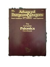AD&D 2E - Advanced Dungeons & Dragons - The Complete Psionics Handbook - 2117
