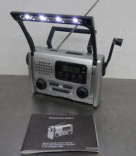 Alarm clock Dinamo multifunción radio-linterna LED radio despertador despertador