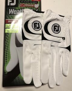 Brand New 2021 FootJoy WeatherSof 2-Pack Golf Glove,Value Pack - Select Size