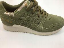 ASICS Gel - Lyte III Camo Pack Aloe HL7V7 0808 Rare Trainers / Sneakers UK 6.5