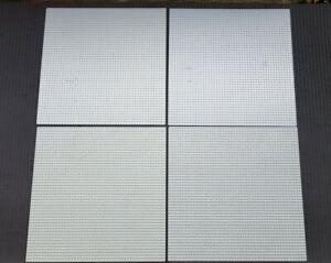LEGO® Bauplatte Platte 48x48 / 50x50 grau Grundbauplatte System 4186 - 4186a