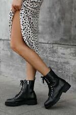 Steve madden guided combat boots new size 7.5
