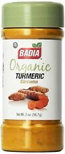 Badia Organic Turmeric Ground Powder Curcuma  2 oz