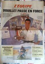 L'Equipe Journal 2/01/1996; David Douillet élu Sportif français de l'année 1995