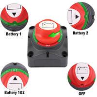 600A Boot Batterie Trennschalter Hauptschalter Stromschalter Ausschalter 12~48V
