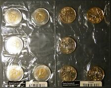Canada 2011 Parks Borel Forest loonie dollar toonie 2 5-pack Legendary Nature