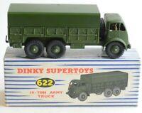 Dinky Supertoys No 622 10 Ton Army Truck - Meccano Ltd - England - Boxed - (B19)