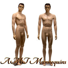 New listing Male mannequin 6Ft, removable head and arms, skin tone full body manikin-Ym8-1F