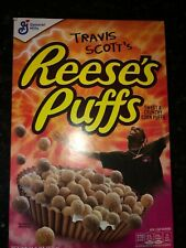 Limited Travis Scott X Reeses Puffs Cereal -Sold Out Rare!