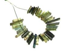 TOURMALINE Green Pink Blue 6-16mm Stick Beads NATURAL