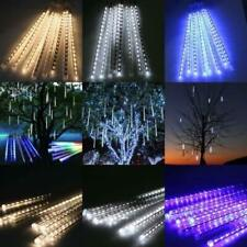 Perfect Holiday, 50cm 8 Tube 240 Leds Snowfall Meteor Rain Light Tube - NEW