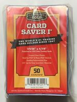 50 pack New Card Saver 1 Holders for PSA BGS Grading - in hand, ready to ship!