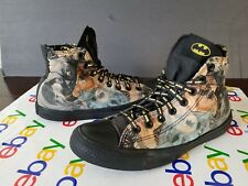 CONVERSE MEN'S SIZE 7M CANVAS HI TOP SNEAKERS USED BUT VERY COOL