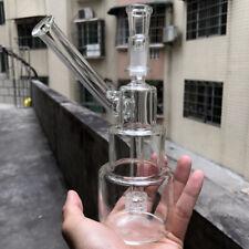 7.5 inch Glass bong Hookah Shisha Glassware Tobacco water pipe Bubbler