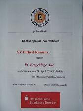 Programm Pokal 1991//92 BSV Strehla SV Ottendorf//Okrilla