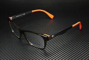 VERSACE VE3245 5235 Transparent Green Orange Demo Lens 55 mm Mens Eyeglasses