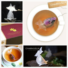 CHARM VILLA Taiwan Lucky GOLDFISH TEA BAG - Rose Oolong Tea Flavor (Fast Ship)