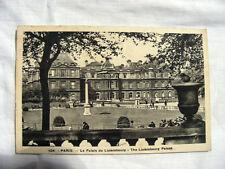 Cartolina Fotografia Filatelia Collezionismo Palazzo del Lussemburgo Parigi