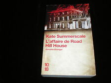 10/18 Kate Summerscale : L'affaire de Road Hill House
