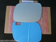 610LF - 04-07 Volkswagen Touareg Mirror Glass Driver Side LH Left + Adhesive Pad