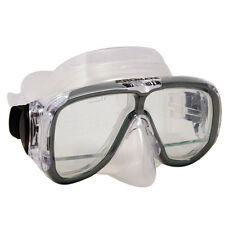 Scuba Diving Snorkel Down View Panoramic Silicone Mask
