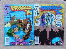 Comics, La Patrulla X, nº 87 (1989) y 89 (1990), Forum, Marvel, Chris Claremont
