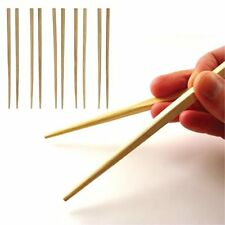 5 Pairs 10 Bamboo Wooden Wood Chopsticks Traditional Chinese Japanese CHOP Stick
