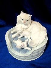 Lladro #6652 Kitty Care Bnib Rare Cats Kittens Bundle Cute $140 Off Free Shiping