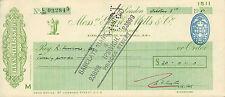 "glynn.mills & co "" holts branch whitehall london "" oct 3rd 1951"
