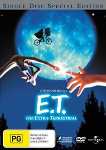 """E.T. - The Extra Terrestrial (DVD) Region 4 """"NEW AND SEALED"""""""