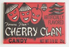 Cherry Clan FRIDGE MAGNET (2 x 3 inches) candy label box wrapper