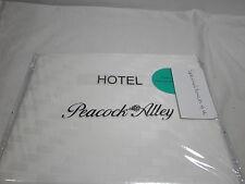 New Peacock Alley Hotel Milano Matelasse Standard Pillow Sham ~ Ivory $130 Nip
