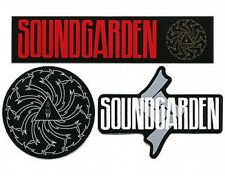 SOUNDGARDEN logos & symbols NEW various shapes SET of 3 STICKERS - CHRIS CORNELL