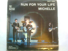 THE BEATLES   run for your life ....MICHELLE   45giri  1966   qmsp 16389