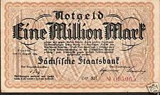 RARE GERMANY 1 MILLION ( 1000000 ) MARK NOTE 1923 # 14