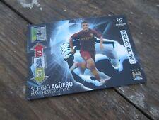 PANINI ADRENALYN XL CHAMPIONS LEAGUE 2012-13 SERGIO AGUERO Limited Edition 12-13