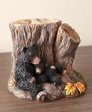 Toothbrush Holder Cozy Mama Mother Bear w/ Cubs Bathroom Home Decor