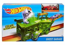 Hot Wheels Ghost Garage Die Cast Model Toy Race Car Track Play Set New