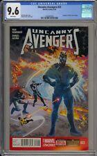 UNCANNY AVENGERS #22 - CGC 9.6 - AVENGER #8 (1964) COVER HOMAGE - 1626947020