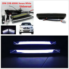 2x Car SUV 20W COB Xenon White LED Light DRL Driving Fog Lamp E4 Mark Waterproof
