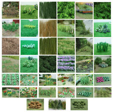 Tasma Products high quality flowers and plants for OO gauge railway layouts