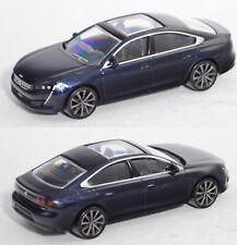 Norev 310907 Peugeot 508 II Limousine, stahlblaumetallic, 1:64