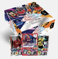 2020-21 TOPPS UK CHROME MATCH ATTAX UCL UEFA SOCCER CARD HOBBY BOX w/Refractors