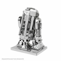 Fascinations Metal Earth 3D Laser Cut Steel Model Kit Star Wars R2-D2 Toy Gift