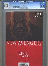 New Avengers #22 CGC 9.8 (2006) Civil War Highest Grade