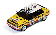 LANCIA DELTA HF 4WD R.Brookes-P.Wilson RAC Rally 1987 RAC102 New IXO 1:43