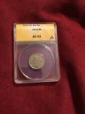 "1912 Liberty/""V"" Nickel CERTIFIED ANACS 5-Cents  AU 53"