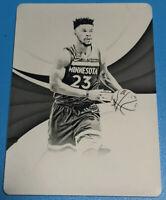 17/18 Panini Immaculate.JIMMY BUTLER.1/1 Black Print Plate.NBA Star.Bulls/Wolves