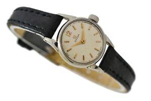 Vintage Omega Geneve Cal.244 Manual Wind Stainless Steel Ladies Watch 2038